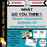 Pictures for Language Development (Set #1: People) SPANISH