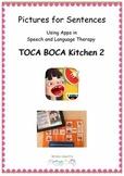 Pictures for Sentences - Toca Boca Kitchen 2