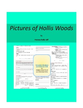 Pictures of Hollis Woods Complete Literature and Grammar Unit