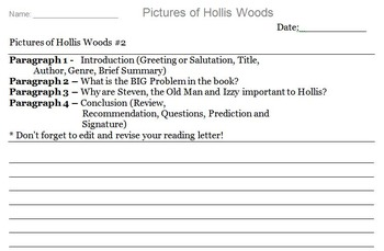 Pictures of Hollis Woods Novel Assignment