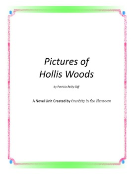 Pictures of Hollis Woods Novel Unit Plus Grammar