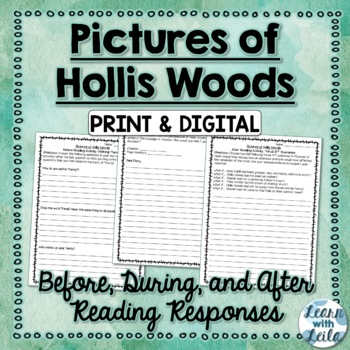 Pictures of Hollis Woods Reading Responses