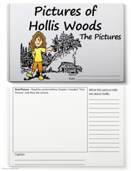 Pictures of Hollis Woods Scrapbook Activity