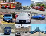 Pictures of Vehicles for Commercial Use.