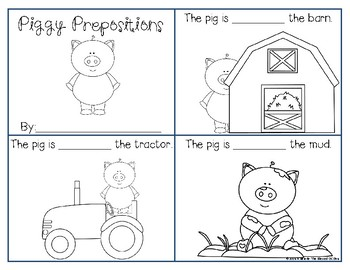 Picturesque Prepositions-Farm Edition
