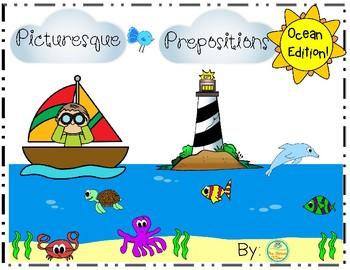 Picturesque Prepositions-Ocean Edition