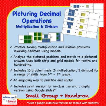 Picturing Decimal Operations: Multiplication & Division