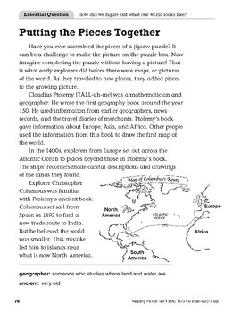 Picturing the World (Reading Paired Text)