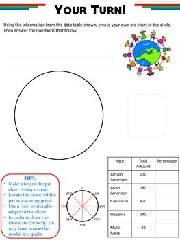 Pie Charts: How-To Printable