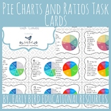 Pie Charts and Ratios Task Cards