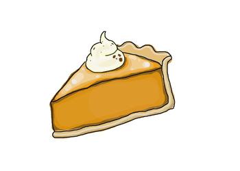 Pumpkin Pie Fall Clipart