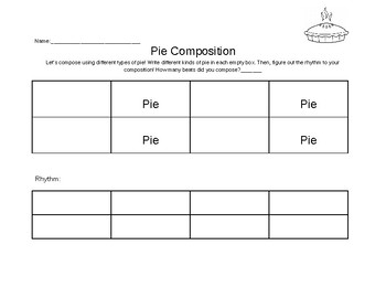 Pie Composition