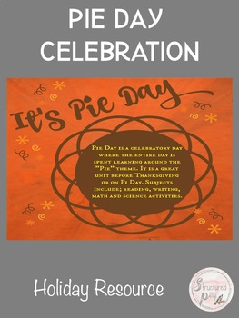 Pie Day- A Thanksgiving Celebration of Pies!