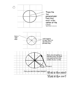 Pie Day Activity-Pie on a graph
