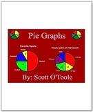 Pie Graph Circle Graphs - Math Smartboard Lessons