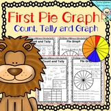 Pie Graph - Color, Tally and Graph (First Pie Charts) For Grade Two / Grade One