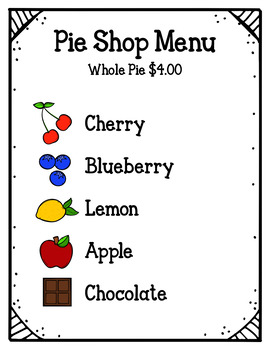 Pie Shop (Dramatic Play)