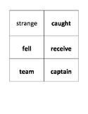 Pie Splat Fluency (Star Words 32-35)