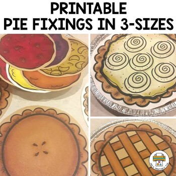 Pie Stand Dramatic Play Set for Pre-k, Preschool and Tots