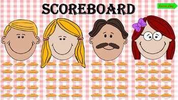 Pie in the Face PowerPoint Game Template