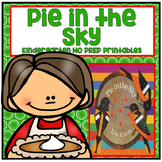Pie in the Sky Kindergarten NO PREP Supplemental Reading Printables