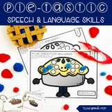 Pie Speech and Language Therapy Thanksgiving