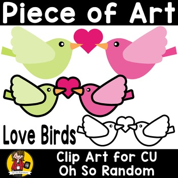 Piece of Art | Love Birds