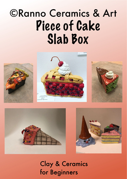 """Ceramic Clay Project """"Piece of Cake"""""""