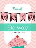 Piece of Cake Sight Word & Alphabet Cards