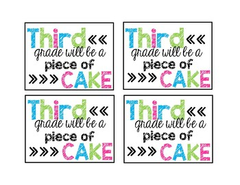 Piece of Cake Tags