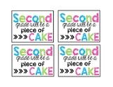 Piece of Cake Tags