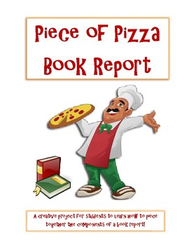 Piece of Pizza Book Report