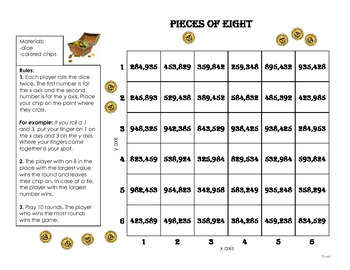 Pieces of Eight Round and Add