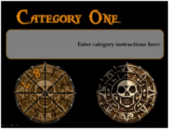 Pieces of Eight - Customizable PowerPoint Review Game
