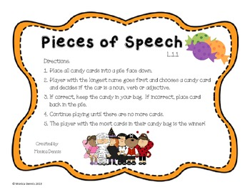 Pieces of Speech