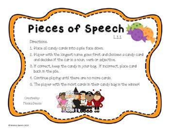Pieces of Speech