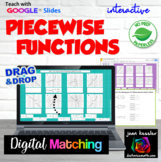 Piecewise Functions Interactive Digital Activities with GOOGLE Slides™