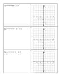 Piecewise Function Activity