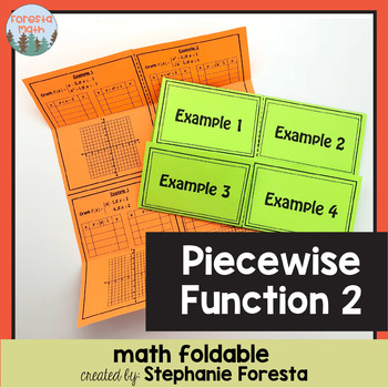 Piecewise Function Foldable 2