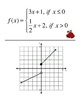 Piecewise Function Scavenger Hunt