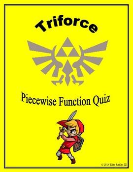 Piecewise Function Triforce Graph Quiz