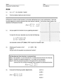 Piecewise Functions (Day 1 and Day 2)