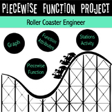 Piecewise Functions Project | Project Based Learning | Distance Learning