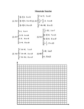 Piecewise Pictures