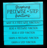 Piecewise & Step Functions (Foldable)