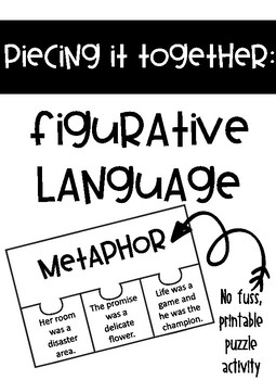 Piecing It Together: Figurative Language