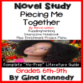 Piecing Me Together Novel Study and Project Menu