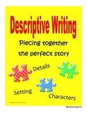 Descriptive Writing Graphic Organizers