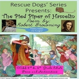 The Pied Piper of Hamelin Poem Robert Browning CCSS 4th & 5th SPED ELD