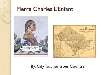Pierre Charles L'Enfant - Washington DC Architect